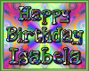 ISABELA bday balloons