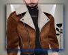 vk. Jacket Wool brown
