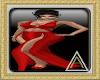 (AL)Sheli Dress Red SL