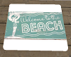 Ocean Side Welcome Mat