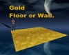 Gold Floor or Wall