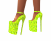 High heels china yellow
