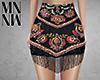 Beaded Hem Skirt