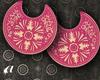 {a} PinkCute Earrings