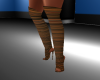 Fashion Brown Boots RL