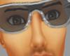 Male Sliver Glasses