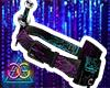 GG. Cyberpunk Ninja Belt