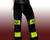 Yellow Toxic Raver Pants