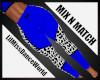 Mix N Match Blu Cow Leg