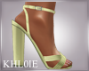 K yellow spring heels