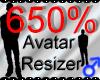 *M* Avatar Scaler 650%