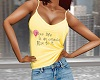 Your Life Yellow Cami