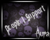 A~ I support... -Sticker