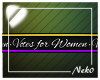 *NK* Votes for Women