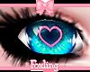 🎀Heart eyes Blue
