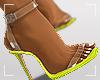 ṩEsha Heels Neon