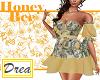 -HoneyBee- Y Rose Dress