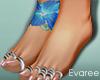 Tropics Bare Feet Tat