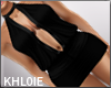 black dress  elle k