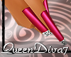 [QD7]SilkyFuschia Nails2