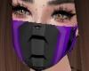 Purple Cyborg mask