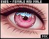 金. Pink Eyes