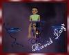 [DL]Rod Iron Table Blue