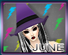 Witch Hat Purple
