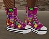 GL-Tegan Pink Sneakers