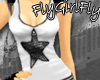 Fly Glitter Star Tank W