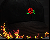 Rose flower Cap