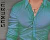 #S Charvet Shirt #Peacock