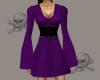 .X. Pirate Dress Purple