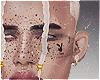 Freckles + Face Tatt