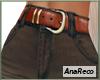 ABrownJeans+Belt M