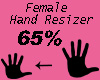 hand resizer 65%