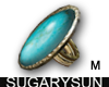/su/ TURQUOISE STONE RNG