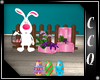 [CCQ] Easter Bunny Bench