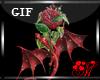 *M* Dragon & rose