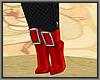 Santa High Heel Booties
