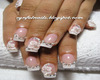 White Diamond Nails