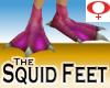 Squid Feet -Womens v1a