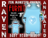 BABY BLUE MONSTER FURN