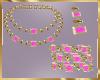 C15 Hot Pink Jewelry Set