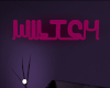 SU Neon Witch Sign