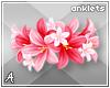 A| Lani Flower Anklets 1