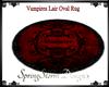 Vampires Lair Oval Rug