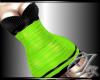|IV|Spike Dress Green