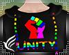 Pride Unity Crop Hoodie