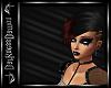 Hairs Glam Raven Bla/Red